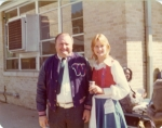 Hoyt Lee and Melinda Harper on 50s Day