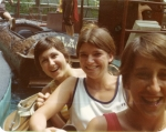 Nancy Brown, Barbara Counts and Liz Robinson at Six Flags.