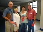 David and Donna Smith along with Wayne and Kay Petrus.