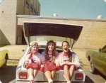 Karen Halley, Melinda Harper & Kathy Edmonson on 50s Day.