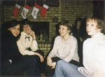 Kenda Bates, Dawn Aldridge, Lisa Soignier and Susan Sers at girls Christmas Party.