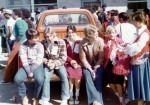 Jeff Johnson, Ken Savoie, Kenda Bates, Paul Stinson, Rhonda Jones and Brenda Dyke on 50's Day.