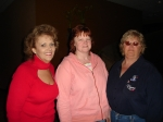 Tomeca Hart Wright, Debbie Hollis Cannon and Mary Hill Bruce came as a group to Carnards.  Smile girls!