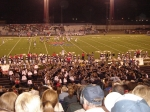 Homecoming Game in October.  We won!